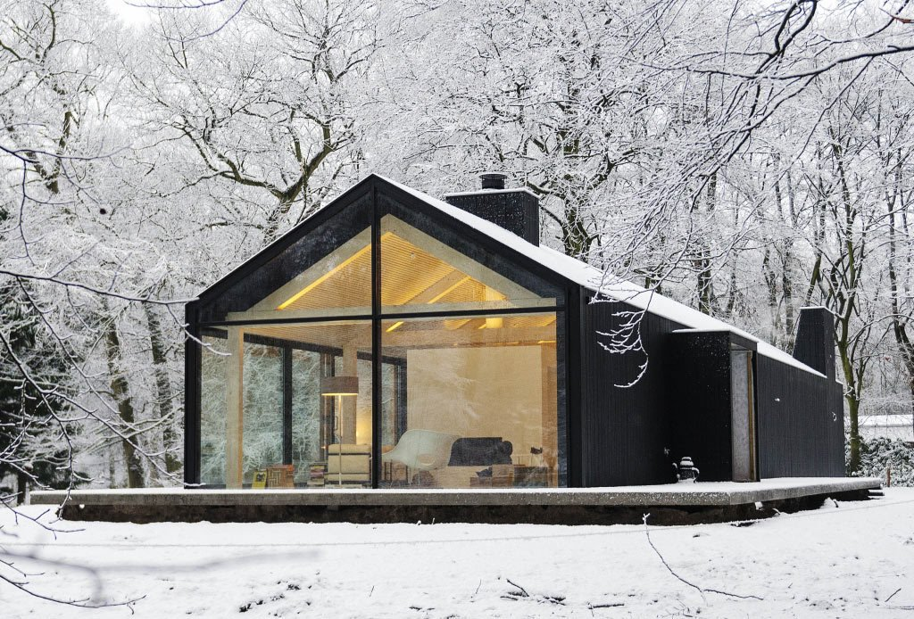 glass home